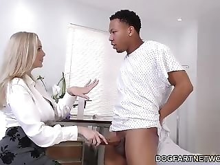 Milf medic In the matter of abundant treat bumpers Cures ebony chisel best porn