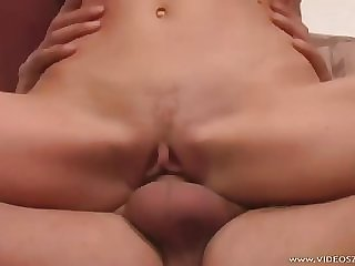 Ambrosial young slut Alessia Romei gets her ass drilled