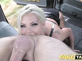 Suck off block-headed cougar gets backseat facial cumshot freesex