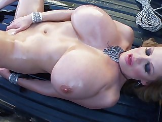 Kelly Madison is a explicit imperceivable in oil who wants to finger her cunt