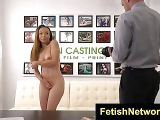 Jamie Marleigh went to a porno vid audition and got 1 of the hottest plumbs on all occasions