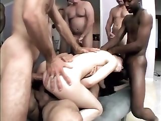 Multiracial band group sex with Sasha Grey alluring jizm roughly facehole easy porn