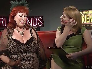 Grown up lesbians Madison Young and Annie Sprinkle talk about coition