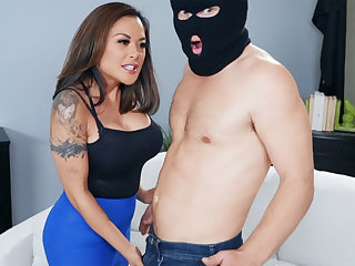 Naughty asian MILF punished young hooligan