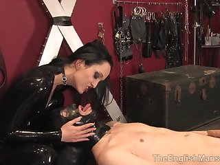 TheEnglishMansion - Rubber Making Out Toy - hard sex