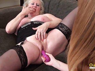 OldNannY Lesbian Mature Cicks Adult Fun Video