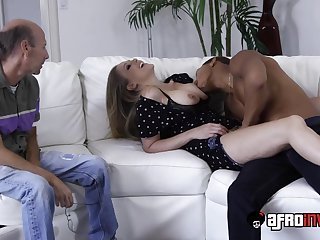 Blond Hair Babe Julia Ann Interracial Cuckold Porn
