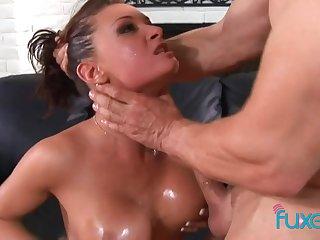 Tory Lane deep sensual anal addiction with facial ending