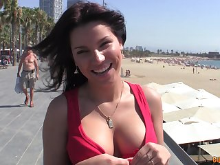 Homemade video of a delicious Latina having sex with a stranger