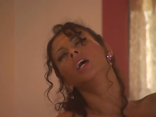 Erotic fucking in the bathroom with pierced clit Olivia Del Rio