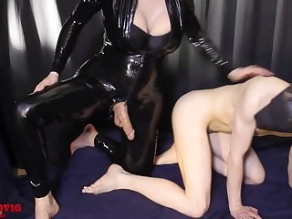 I Fucked Obedient Guy Doggystyle In Latex Suit