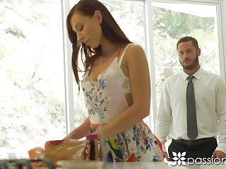 Svelte babe with juicy ass Aidra Fox is into riding sloppy cock