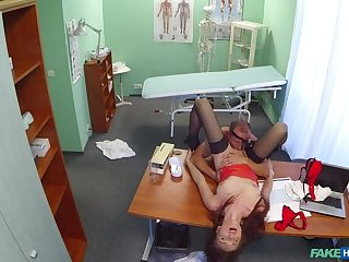 Doctor cures sexy patient with a heavy dose of fucking